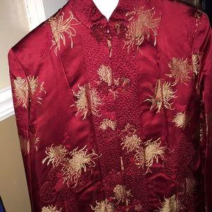 Fancy patterned vintage coat